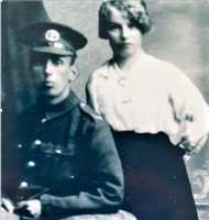 Photograph of Catherine and her future husband George Grainger.
