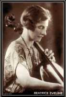 'Beatrice Eveline'. cellist