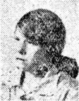 Newspaper photograph of Jane Fisher