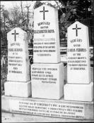 Grave, on the left, of Mabel Dearmer, Kragujevac Central Cemetery, Serbia